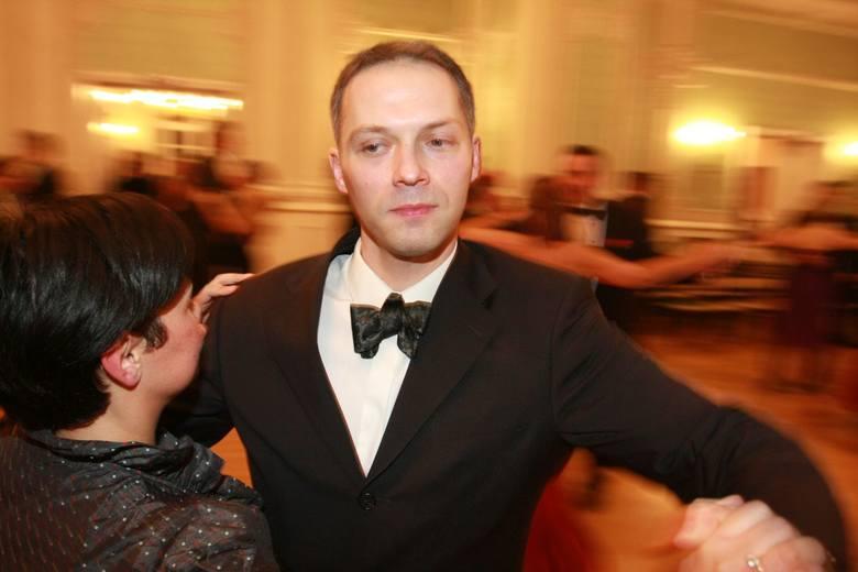 Gdzie mam szukać swojej księżniczki jak nie na balu - śmiał się Jacek Żalek, poseł PO i jeden z głównych animatorów Balu Niepodległości w Auli Magna