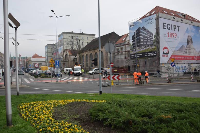 Przebudowa Dworcowej w Katowicach