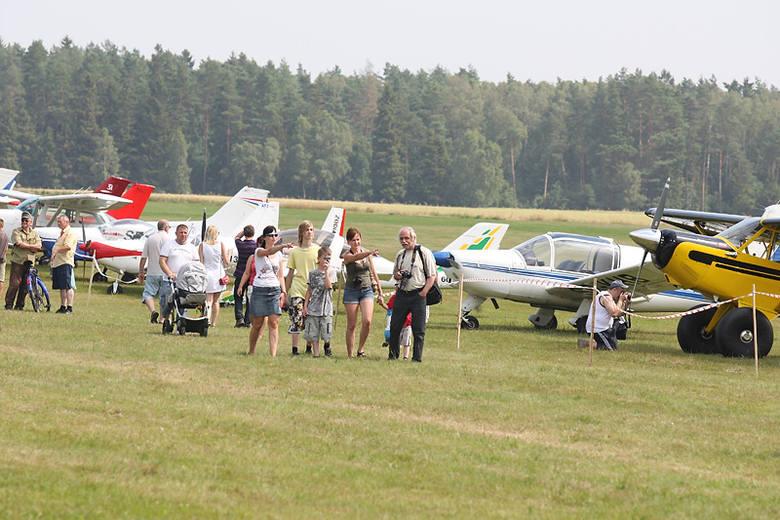 Piknik lotniczy w Krępie