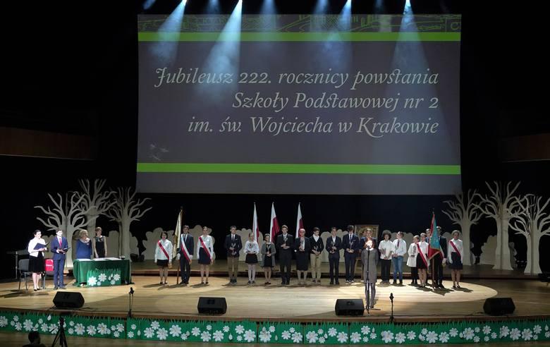 Najstarsza w Krakowie. Jubileusz 222-lecia Szkoły Podstawowej im. św. Wojciecha