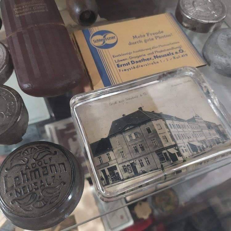Nowa Sól, pamiątki z miasta i dawnej fabryki nici Odra