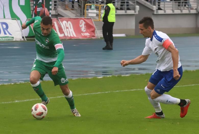 W poprzedniej kolejce Radomiak Radom przegrał u siebie z Błękitnymi Stargard 0:1.