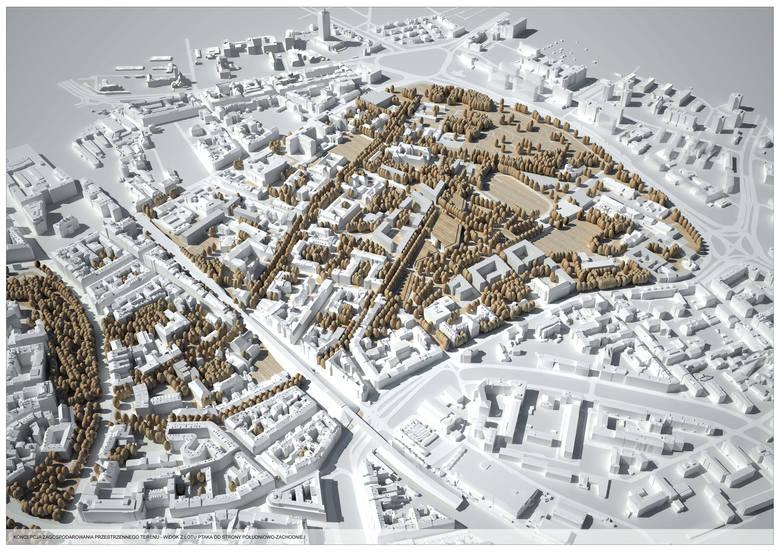 Koncepcja dla Wesołej autorstwa Biura Rozwoju Krakowa z 2010 roku