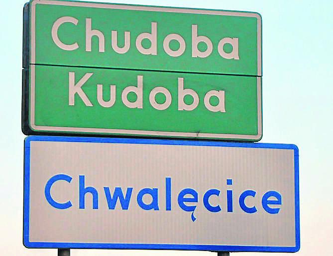 Chwalęcice - część wsi Chudoba. Wykaz wszystkich nowych tablic jest na stronie www.nto.pl/kluczbork.