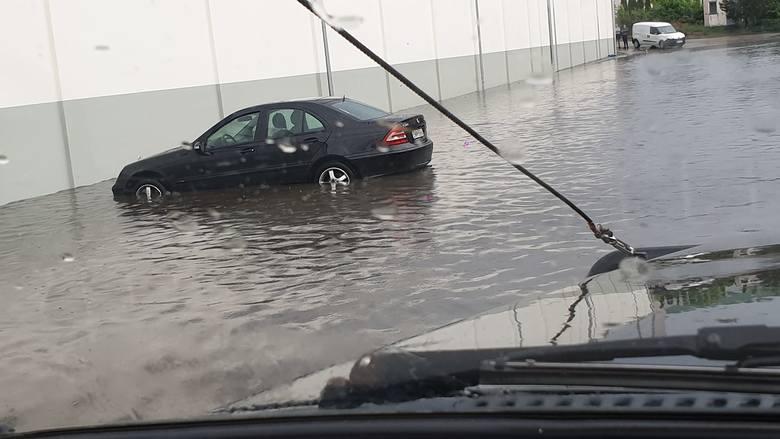 Burza w Białymstoku 28.05.2019