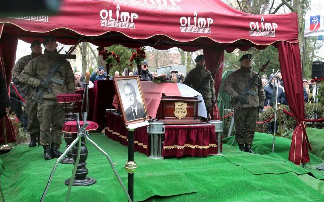 Pogrzeb Mariana JurczykaPrzyjaciele, działacze pierwszej Solidarności, posłowie wszystkich partii, senatorowie, prezydent Szczecina i wojewoda zachodniopomorski
