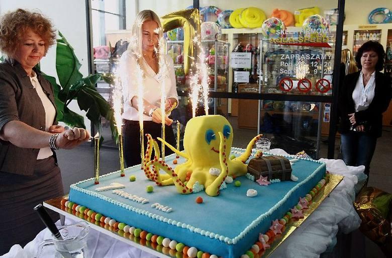 Siedem lat Fali! Ośmiornica na urodzinowym torcie [zdjęcia]