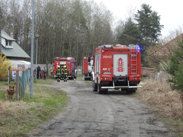 pożar w Droszkowie