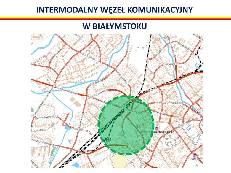 Intermodalny Węzeł Komunikacyjny Białystok
