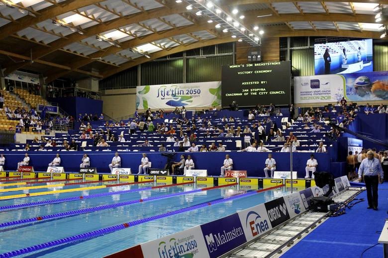 Floating Arena będzie miejscem zmagań najlepszych pływaków w kraju.