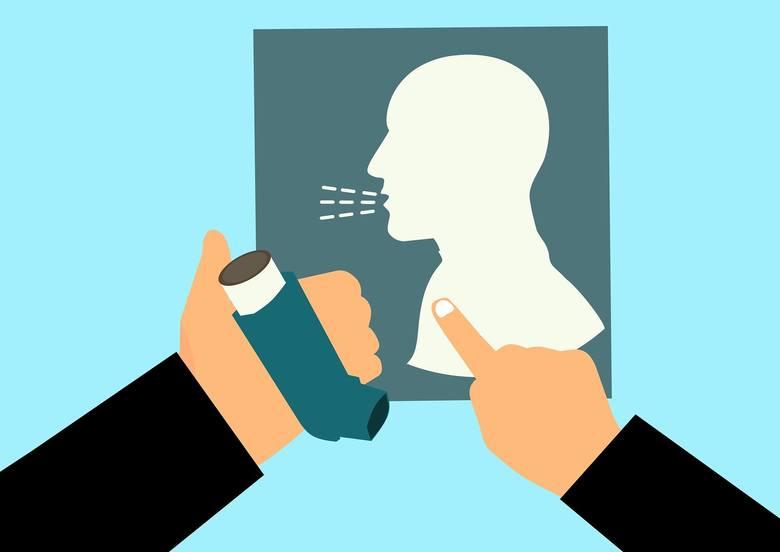 Kolejne choroby współistniejące to choroby układu oddechowego, np. choroba obturacyjna płuc, astma oskrzelowa.