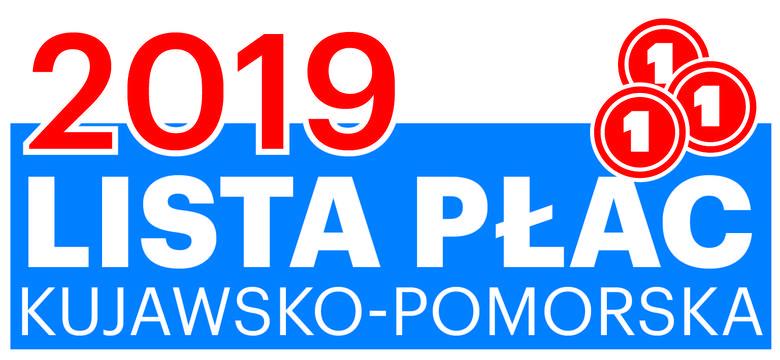 Kujawsko-Pomorska Lista Płac 2019.