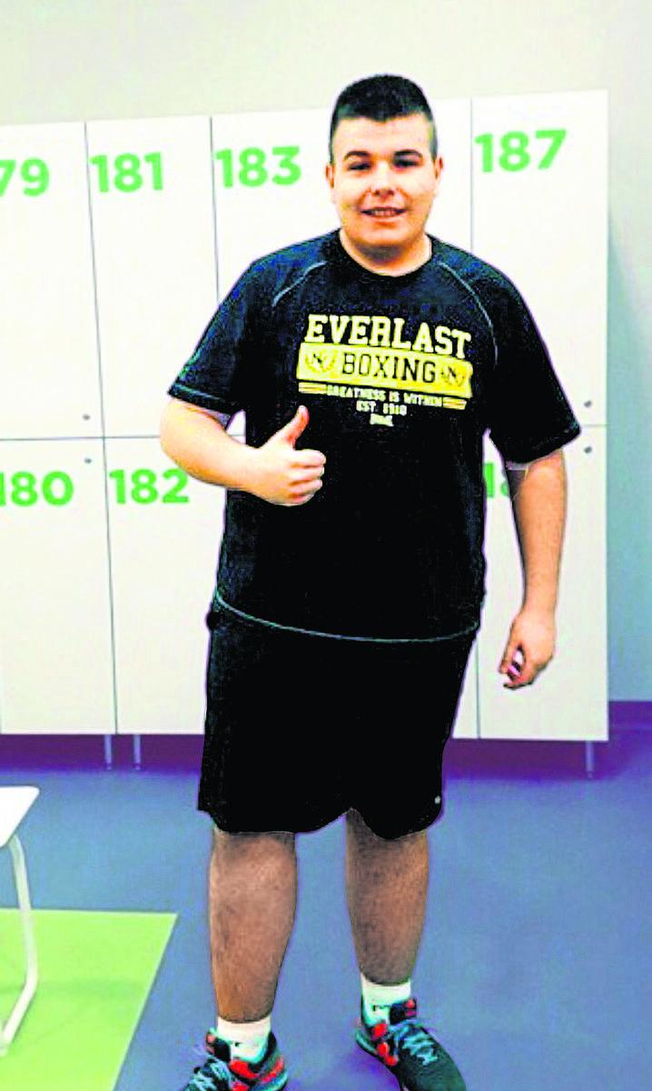 Jeszcze dwa lata temu Dawid Szurgot ważył 138 kilogramów.