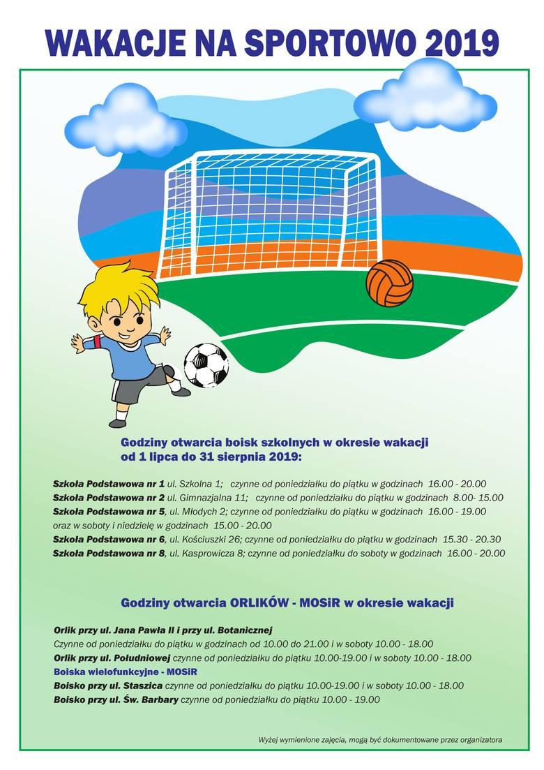 Wakacje na sportowo. Które boiska w Nowej Soli i kiedy są otwarte dla dzieci i młodzieży?