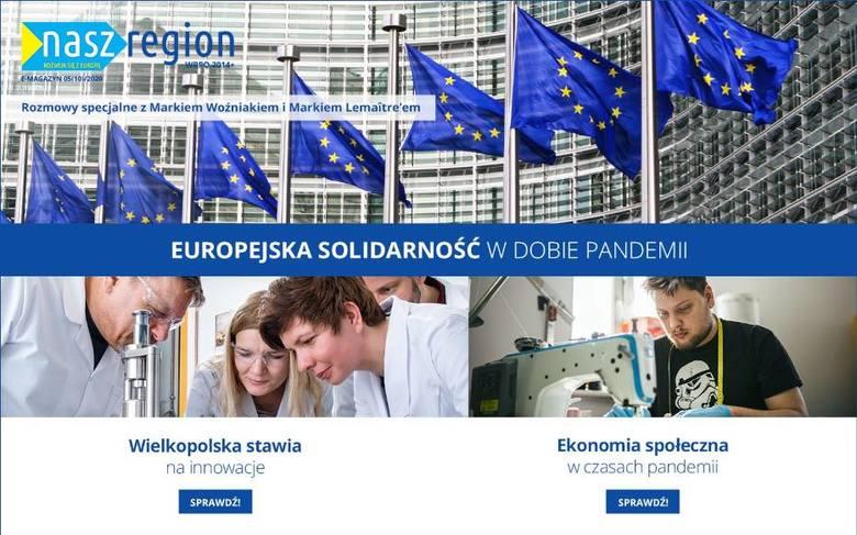"""Nowy e-magazyn """"Nasz Region"""" nr 10 (5)/2020"""