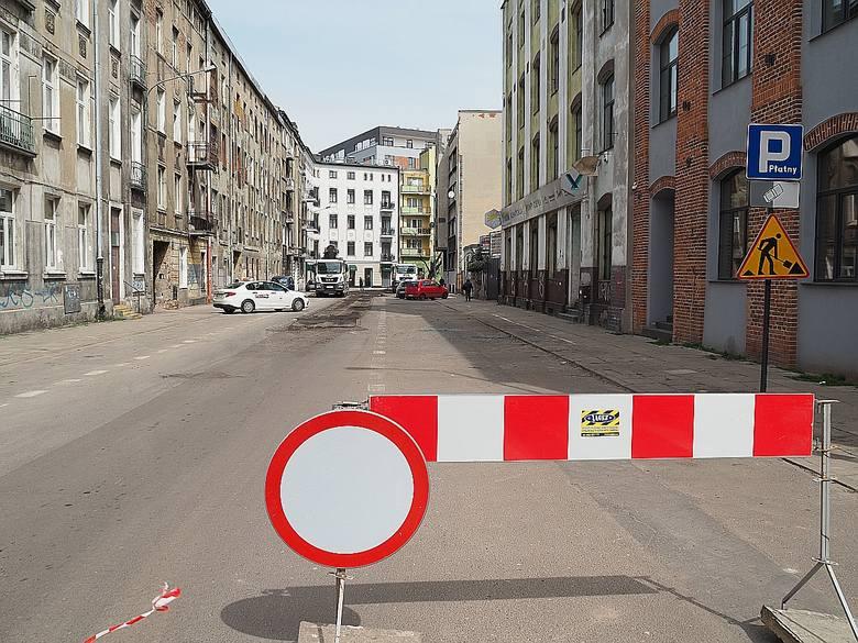 Przekazano już również plac budowy pod remont kolanka ulic Lipowej i Próchnika.