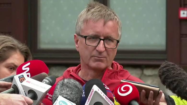 Naczelnik TOPR, Jan Krzysztof, porównał skalę akcję ratunkowej do tych, które mają miejsce podczas ataków terrorystycznych