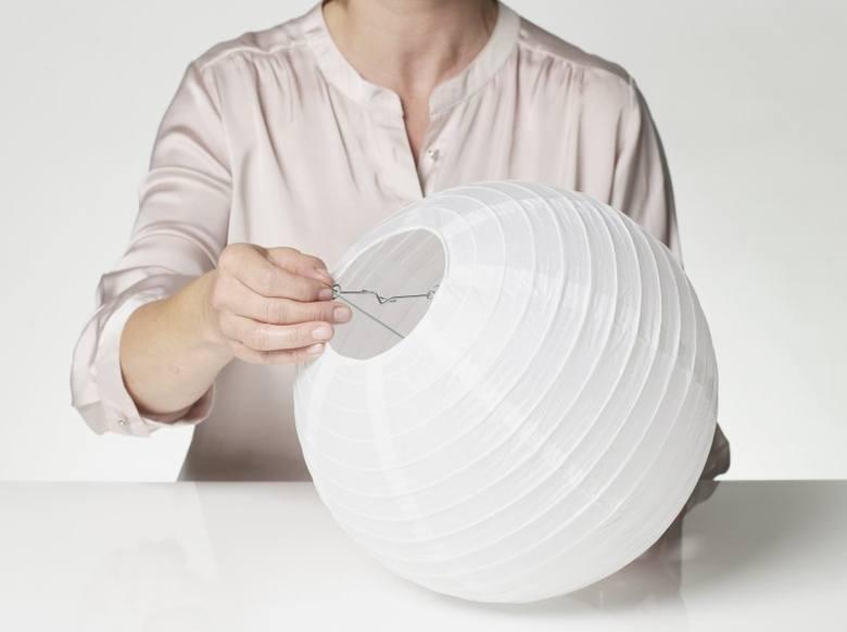 Papierowy żyrandol