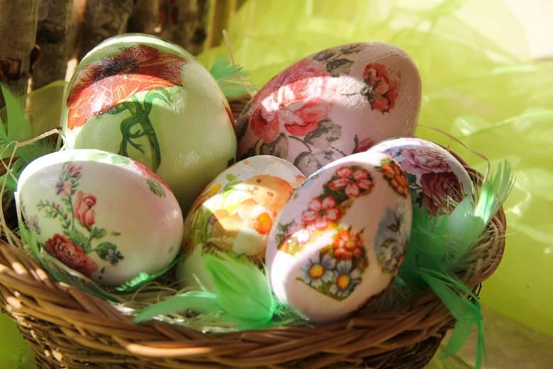 Wielkanoc w Michałowie. Stroiki, pisanki, świateczne ozdoby (zdjęcia)