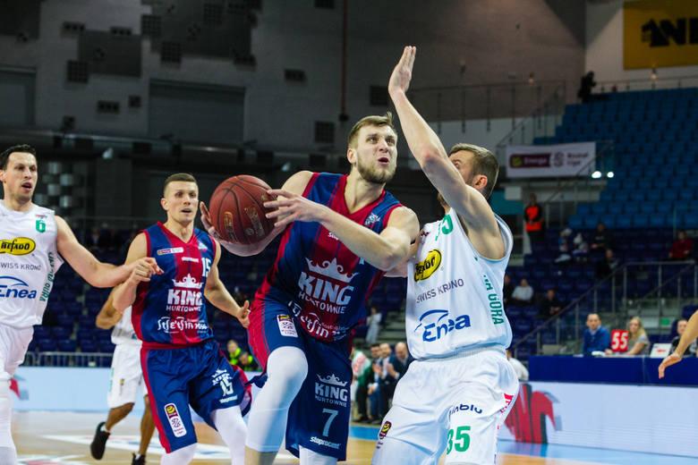 Martynas Paliukenas (z piłką) jest ostatnio w dobrej formie i potwierdził to mecz ze Stelmetem.