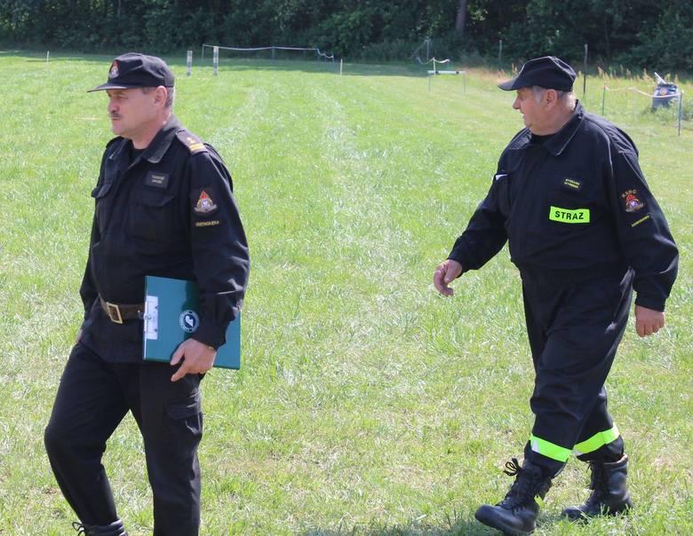 Gmina Goworowo. Zawody strażackie w Lipiance. Rywalizowało sześć jednostek OSP. 14.07.2019 [ZDJĘCIA, WIDEO]