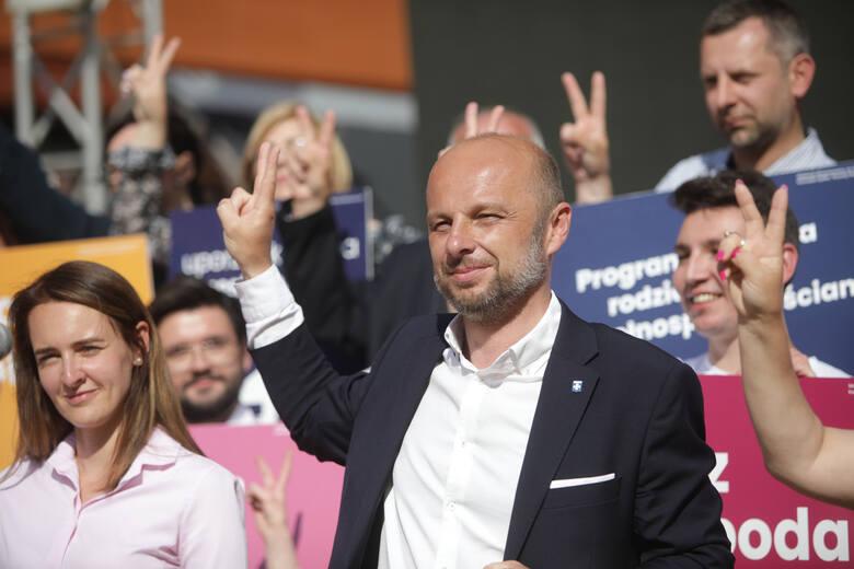 Konrad Fijołek na finiszu kampanii wyborczej: Rzeszów będzie jeszcze piękniejszy