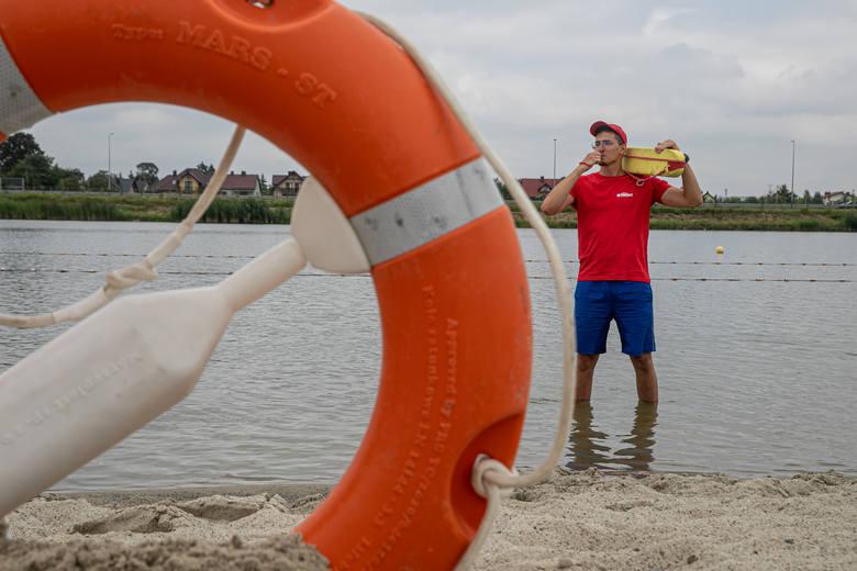 Krakowski słoneczny patrol - to oni pilnują naszego bezpieczeństwa nad wodą