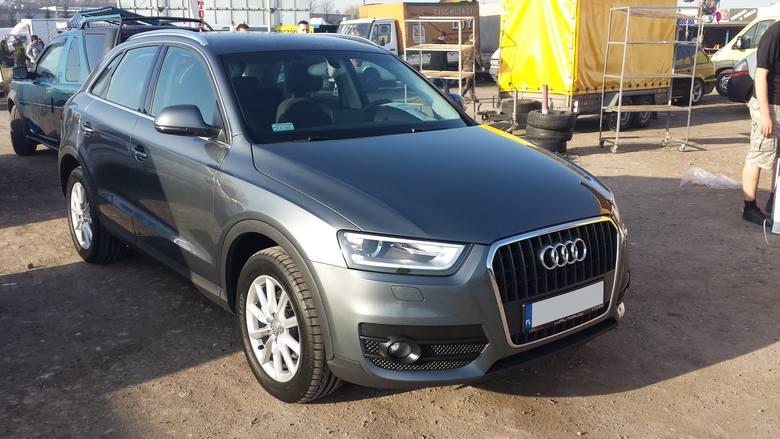 12. Audi Q3. Silnik 2,0 diesel, rok produkcji 2012, cena 69900 zł.