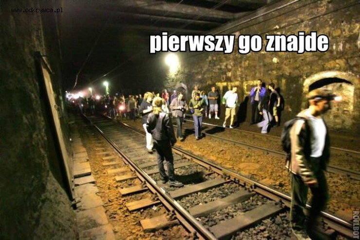 Złoty pociąg - memy