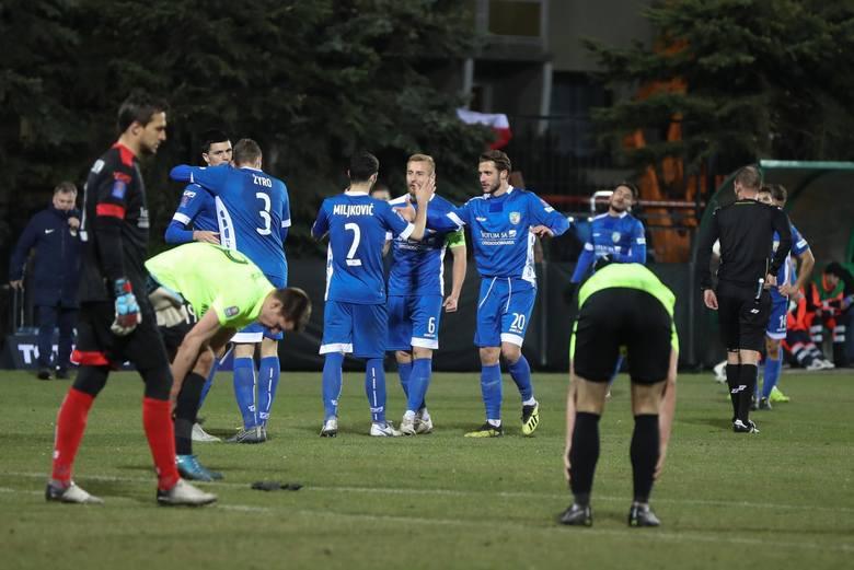 Puszcza Niepołomice - Miedź Legnica, 1/4 finału Pucharu Polski