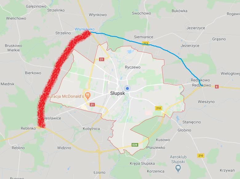 Planują drugą obwodnicę Słupska, z południa od S6 na północ do DK21