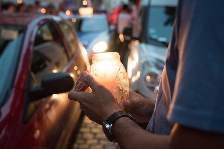 Łańcuch światła w Opolu