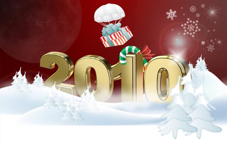 Powitanie nowego roku kojarzy się z zimą