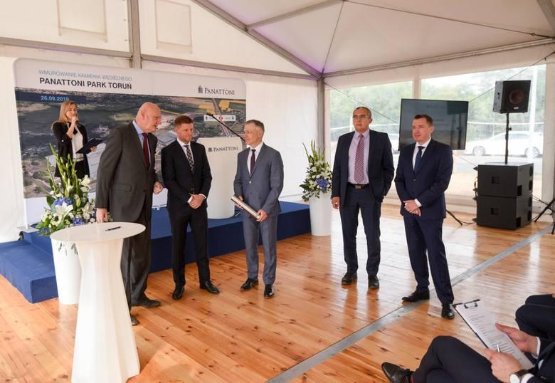 Panattoni Park Toruń przy ul. Przelot składać się będzie z dwóch budynków magazynowych o łącznym metrażu 62,5 tys. m kw.