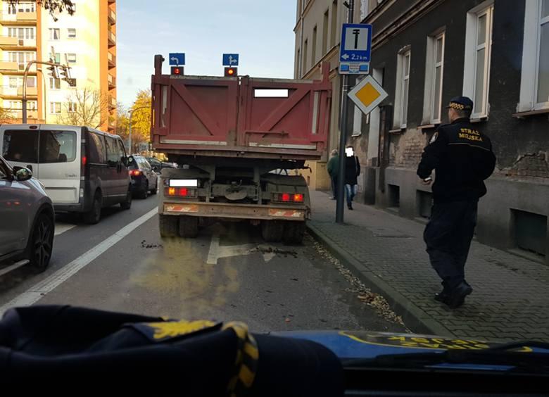 Strażnicy miejscy interweniowali na ulicy Konopnickiej w Stargardzie