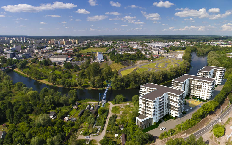 Przy ulicy Toruńskiej w Bydgoszczy - nad samą Brdą powstanie miniosiedle z trzema blokami. Inwestorem jest Rodźko Dewelopment. Co wiemy na temat inwestycji?