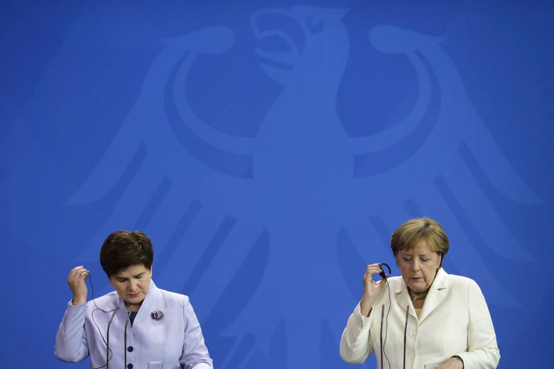 Szefowe rządów rozmawiały m.in. o relacjach obu krajów.