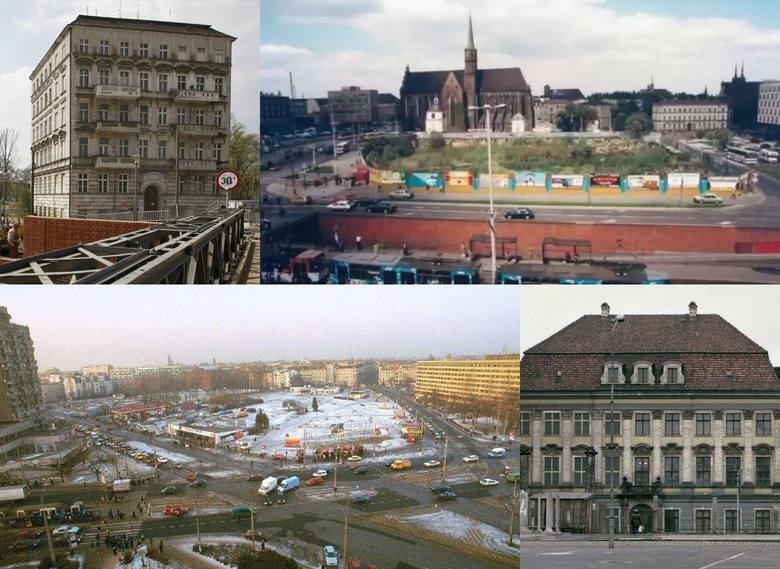 Wybraliśmy miejsca w stolicy Dolnego Śląska, które w minionych dziesięcioleciach przeszły gruntowną przemianę i to w większości przypadków dosłownie