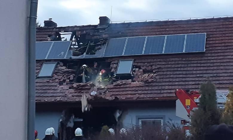 Do pożaru domu jednorodzinnego doszło w sobotę, 22 lutego, w miejscowości Pieski (powiat międzyrzecki). Jego powodem mogło być prawdopodobnie zwarcie