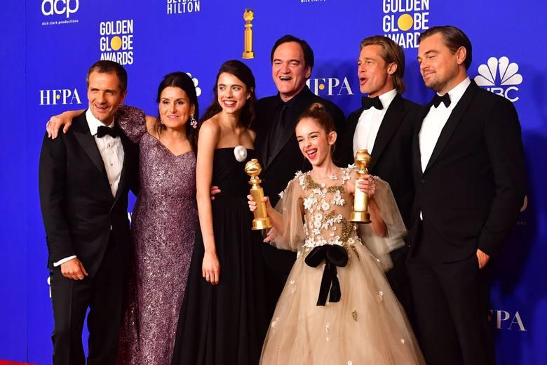 """Kto zdobył Złote Globy 2020? [WYNIKI] [LISTA LAUREATÓW] [ZDJĘCIA] Triumf Tarantino i Mendesa, """"Irlandczyk"""" Scorsese wielkim przegranym"""