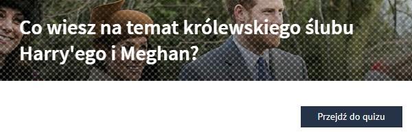 Co wiesz na temat królewskiego ślubu Harry'ego i Meghan