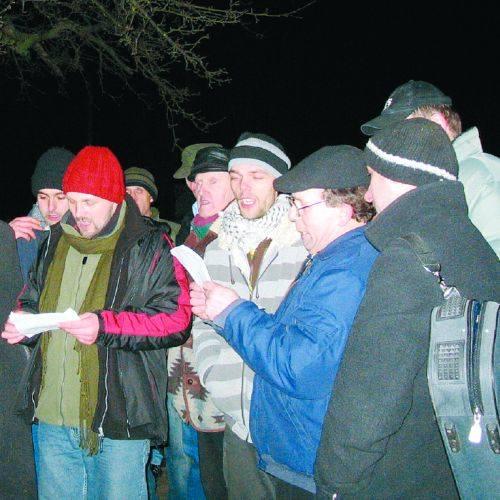 W okolicach Knyszyna pamięta się wielkanocne tradycje kolędnicze. Młodzież ma tu prawdziwą konopielkową szkołę.