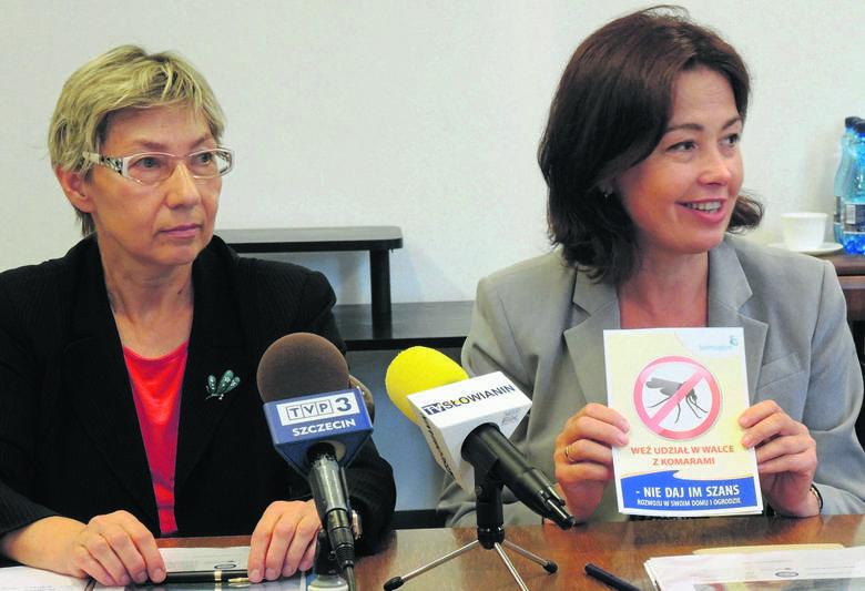 dr Aleksandra Gliniewicz i Barbara Michalska przekonują, że każdy może przyczynić się do zmniejszenia plagi komarów