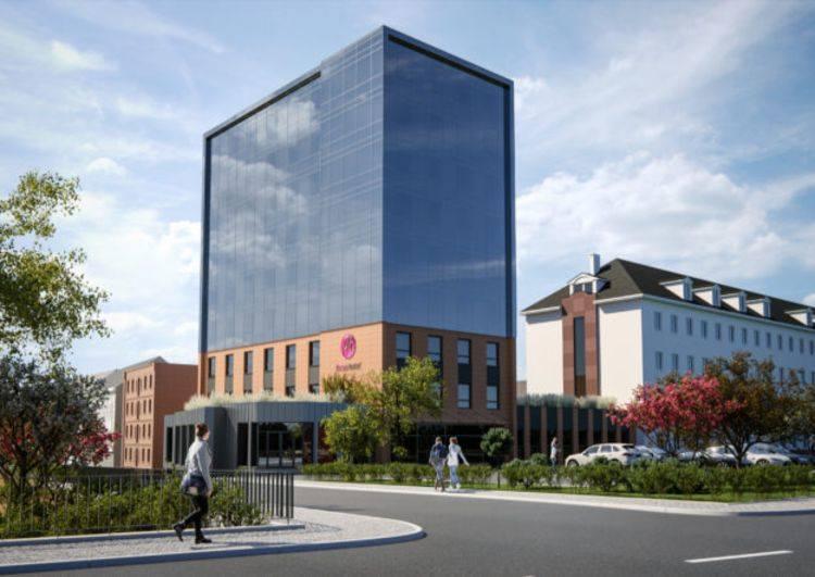 Biurowiec przy ul. Bernardyńskiej 13 w Bydgoszczy zostanie przebudowany na hotel, który będzie wchodził w skład sieci Focus