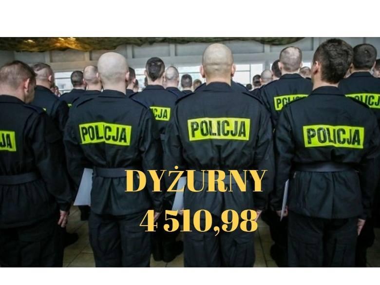 Policjanci dostaną podwyżki, a ile teraz zarabiają? [stawki]
