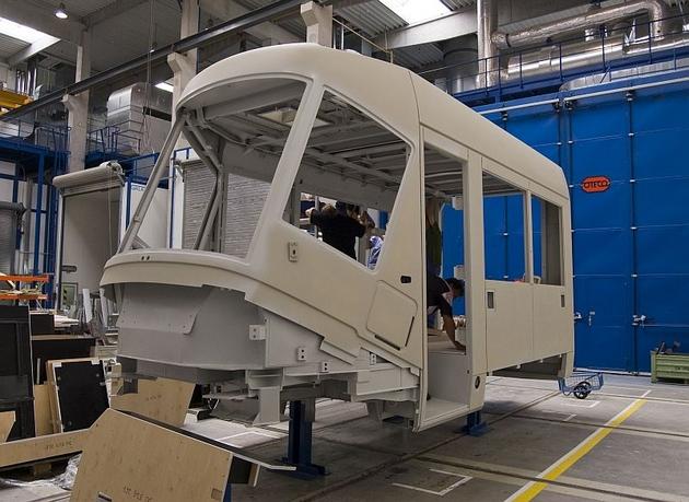 W Czechach trwa produkcja Tramwajów Plus