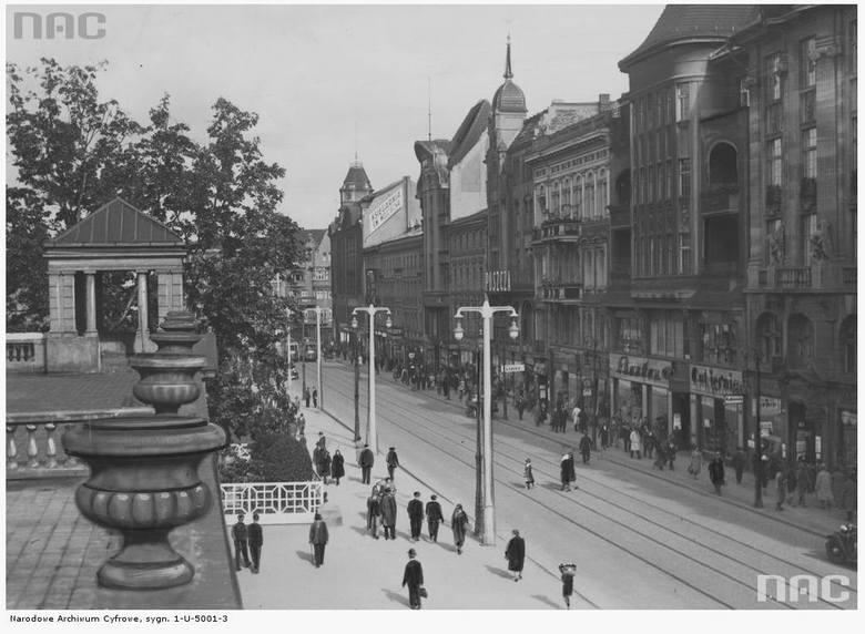 Plac Wolności - 1932 rok