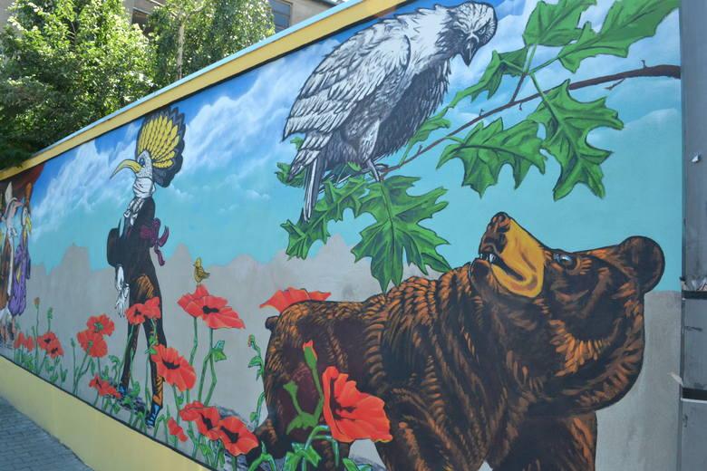 Bielsko-Biała i jego niezwykłe murale ZDJĘCIA