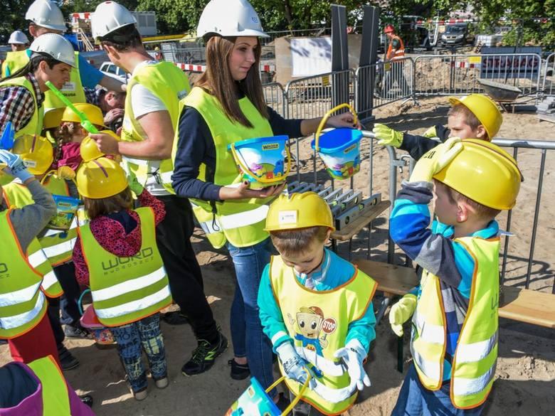 Dzieci budowały centrum handlowe Zielone Arkady w Bydgoszczy [zdjęcia, wideo]