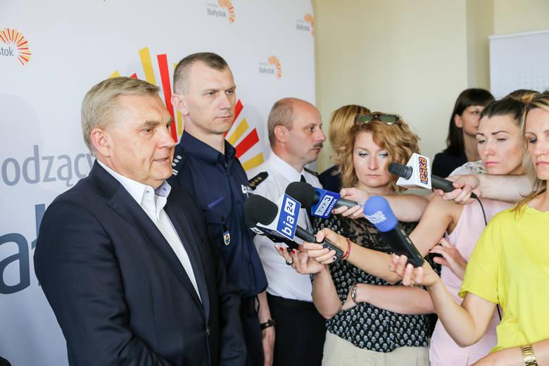 Prezydent przypomina, że Białystok bierze udział w rządowym programie, który ma dostosować miasta do zmian klimatycznych<br />
